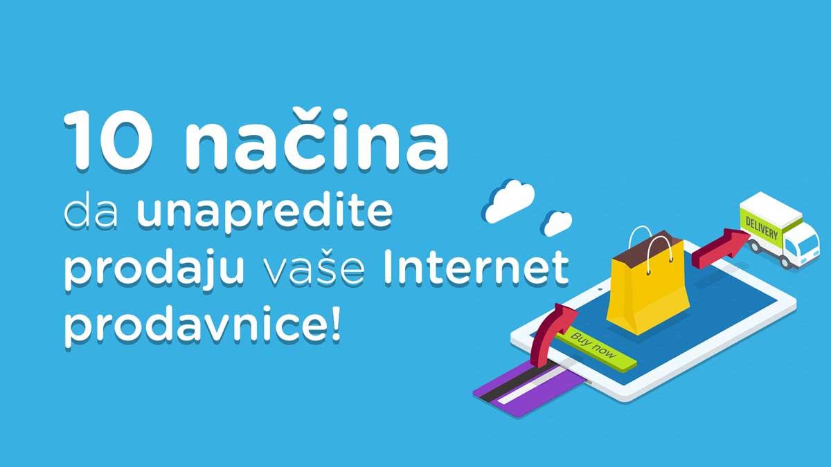 unapredi internet prodavnicu