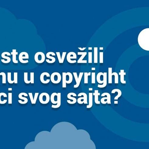 copyright poruka