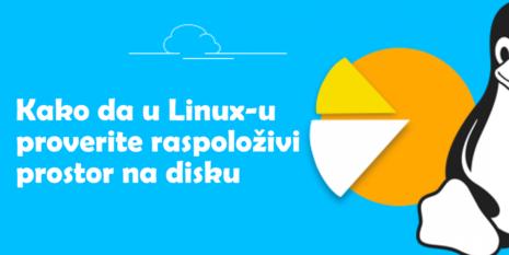 provera slobodnog prostora na disku u linux-u
